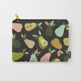 Pear Collection – Charcoal Carry-All Pouch