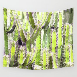 Cactus of desert plants Wall Tapestry