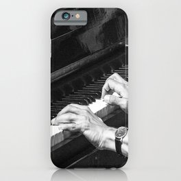 Play the Piano iPhone Case