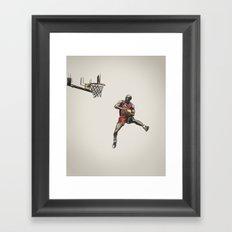 MJ50 Framed Art Print