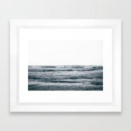 Waves V Framed Art Print