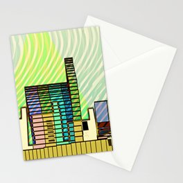 LIVING in MARS / Building 06-07-16 Stationery Cards