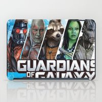guardians of the galaxy iPad Cases featuring guardians of the galaxy by store2u