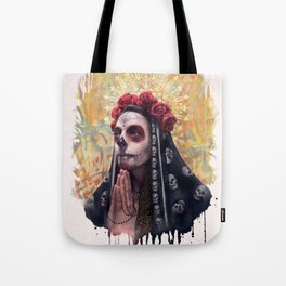 """Katrina"" - Skull girl Tote Bag"