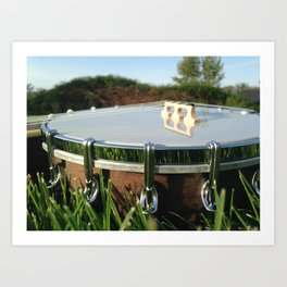 Banjo Uke Art Print