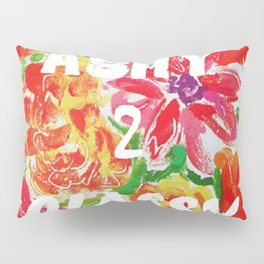 ASHY TO CLASSY ...... FLORAL AND WHITE  Pillow Sham