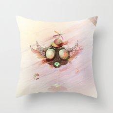 Flying Monkey Throw Pillow