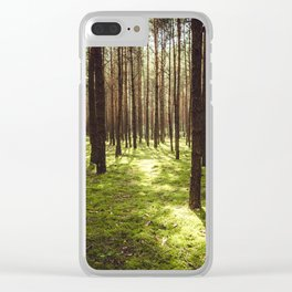 FOREST - Landscape and Nature Photography Clear iPhone Case