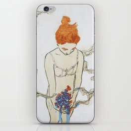 exploration of body, no.5 of 9 iPhone Skin