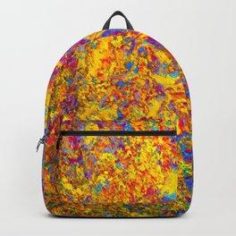 Alice takes a trip-Acid, LSD, mushrooms, Trippy, rainbow, hippie Backpack