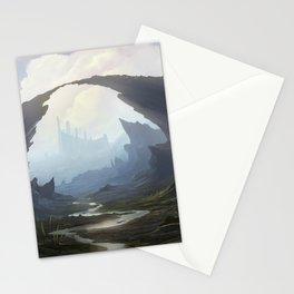 Rocky pass Stationery Cards