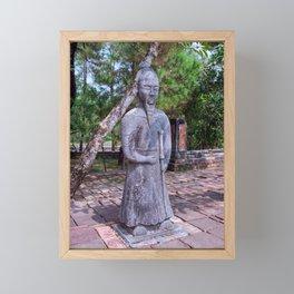 Vietnam, Hue: Emperor Khai Dinh tomb Framed Mini Art Print