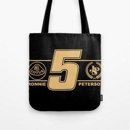 Lotus F1 Ronnie Peterson Formula 1 Tote Bag