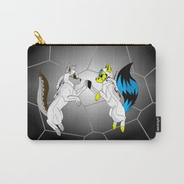Wolves In Space Carry-All Pouch