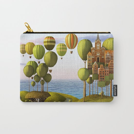 City in the Sky_Lanscape Format Carry-All Pouch