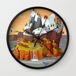 L'île aux copains automne/hiver Wall Clock