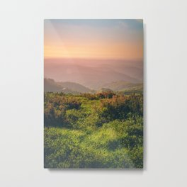 Sunset at Wonderland Metal Print