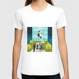 Floating chair T-shirt