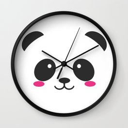 Panda Cute Wall Clock