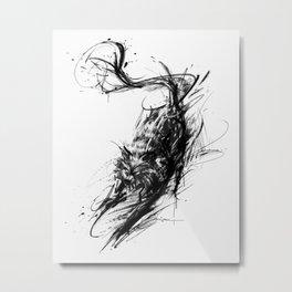 Lobo Metal Print