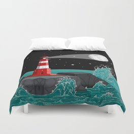 Fabulous Lighthouse Duvet Cover