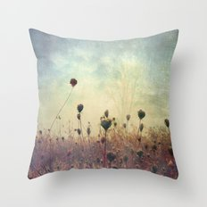 Her Mind Wandered in Beautiful Worlds Throw Pillow