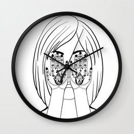 Persian Tatto Style(Hanna) Wall Clock