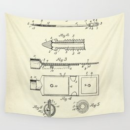 Catheter-1932 Wall Tapestry