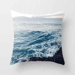 Ethereal Evening Throw Pillow