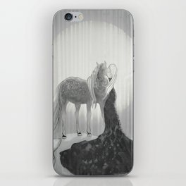 Our Hearts In the Moonlight  iPhone Skin