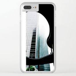 Las Moody Cuatro Torres Clear iPhone Case