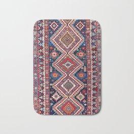 Kuba Antique East Caucasus Carpet Print Bath Mat