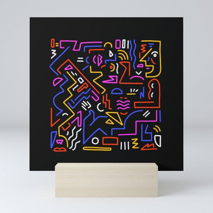 Rock the box Mini Art Print