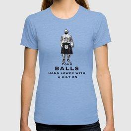 Scotsman in a kilt T-shirt