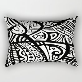 Abstractish 1  Rectangular Pillow