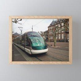 Tram Framed Mini Art Print