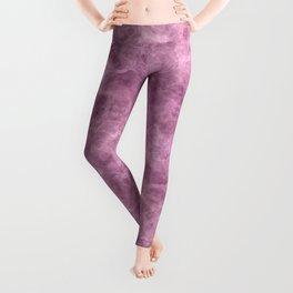 Hot Pink Print Leggings