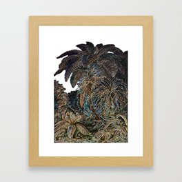 The Palms Framed Art Print