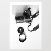 Camera two Art Print