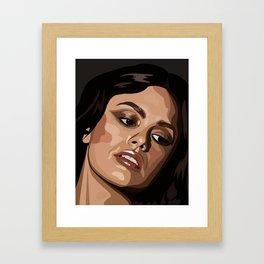 Rachel Bilson Framed Art Print