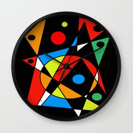 Abstract #120 Wall Clock