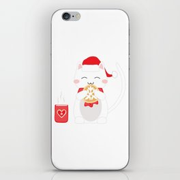 Happy Cat iPhone Skin