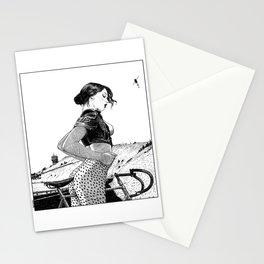 asc 654 - L'ascension du Mont Ventoux (The velociraptor revealed) Stationery Cards