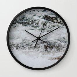 waves iv / sydney, australia Wall Clock