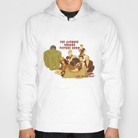 rocky horror picture show Hoodies featuring The Avenger Horror Picture Show by Leigh Lahav