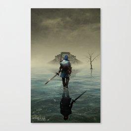 The hardest battle lies within (NEW Version) Canvas Print