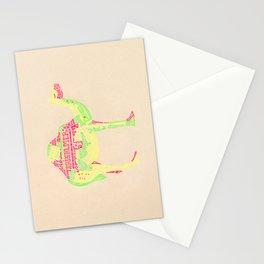 Lettering Camel Stationery Cards