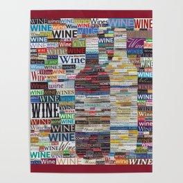 Wine Love Poster