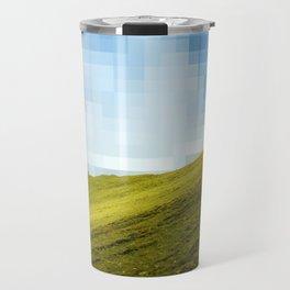 High compression clouds Travel Mug