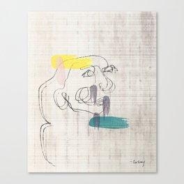 Gazing Canvas Print